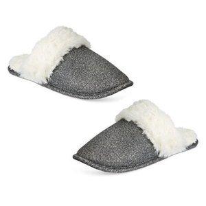 INC International Concepts Metallic slippers